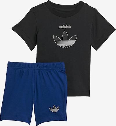 ADIDAS ORIGINALS Set in de kleur Blauw / Zwart, Productweergave
