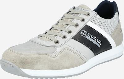 BULLBOXER Sneaker in greige / hellgrau / schwarz / weiß, Produktansicht
