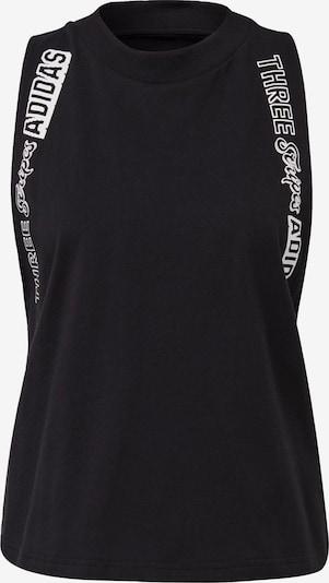 ADIDAS PERFORMANCE Sporttop in de kleur Zwart / Wit, Productweergave