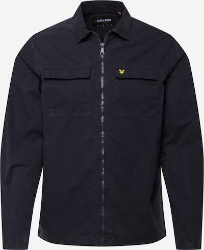 Lyle & Scott Prechodná bunda - námornícka modrá / zlatá / čierna, Produkt