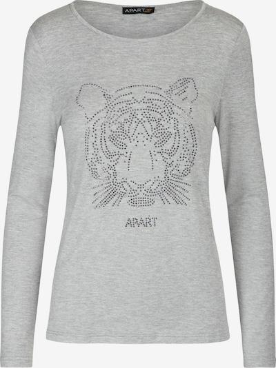 APART Shirt aus weicher Viskoseware in graumeliert, Produktansicht