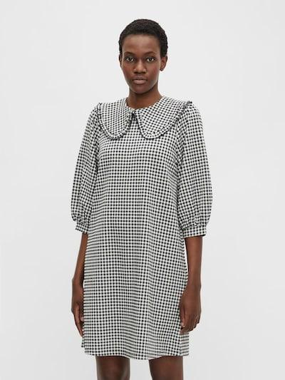 OBJECT Kleid 'Riva' in schwarz / weiß, Modelansicht
