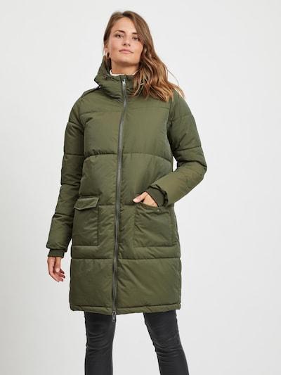 OBJECT Steppmantel 'Hanna' in dunkelgrün, Modelansicht