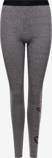 Superdry Leggings in dunkelgrau / schwarz, Produktansicht