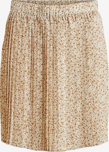 VILA Skirt 'Bibo' in Dark beige / White, Item view