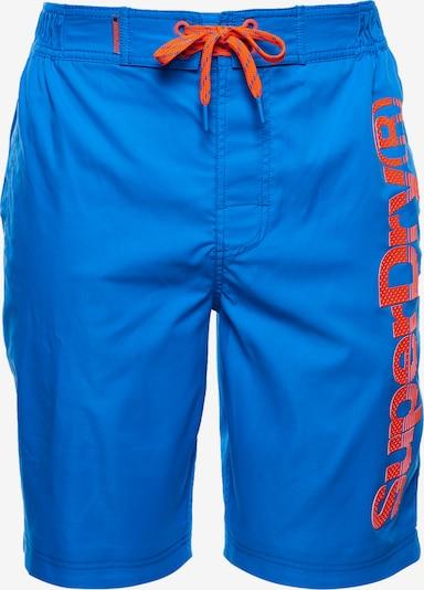 Superdry Boardshorts in de kleur Blauw, Productweergave