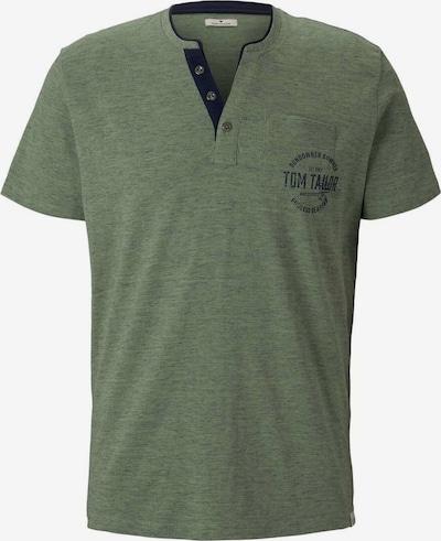 TOM TAILOR Shirt in de kleur Navy / Olijfgroen, Productweergave