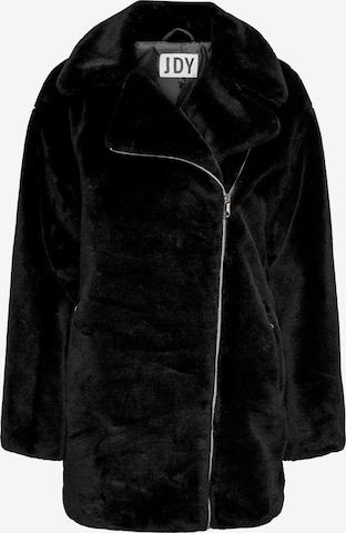 JDY Winter Jacket 'JDYFEDORA' in Black