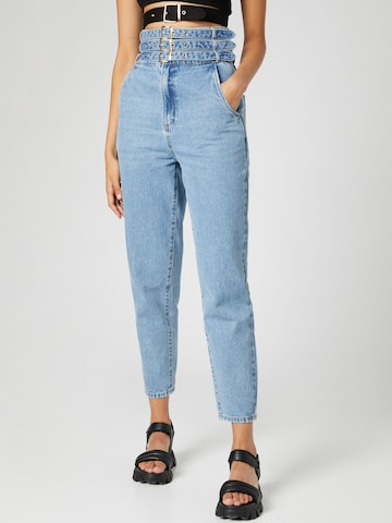 Hoermanseder x About You Jeans 'Cara' in Blue