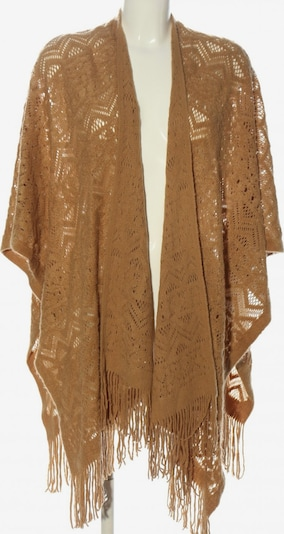 b.young Poncho in XS-XL in hellorange, Produktansicht