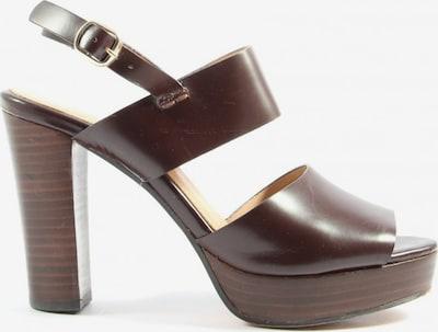 H&M Riemchen-Sandaletten in 38 in braun, Produktansicht