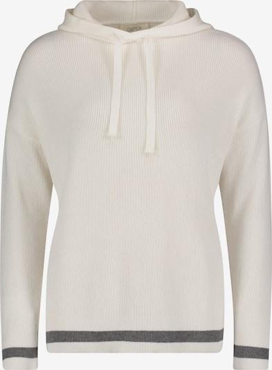 Cartoon Pullover in grau / weiß, Produktansicht