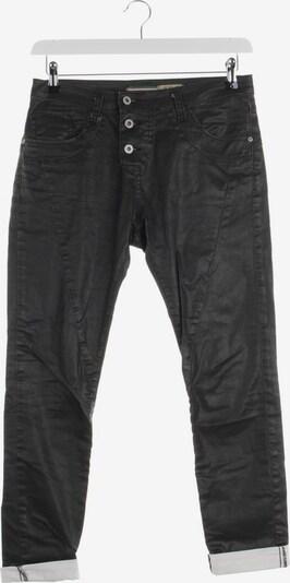 PLEASE Jeans in 25-26 in schwarz / weiß, Produktansicht