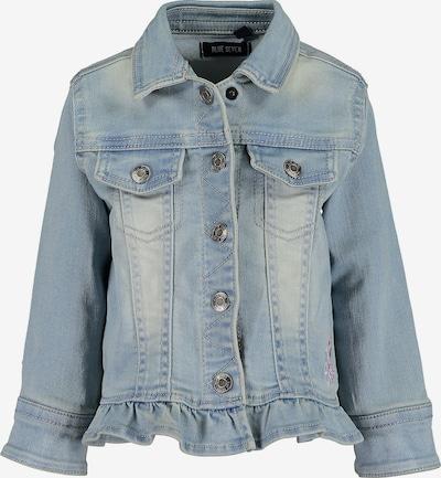 BLUE SEVEN Jeansjacke in hellblau / rosé, Produktansicht
