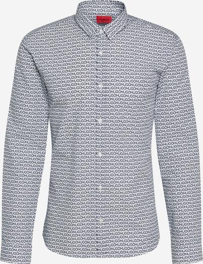 HUGO Košeľa - tmavomodrá / biela, Produkt