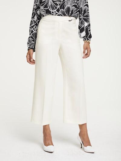heine Broek in de kleur Wit, Modelweergave