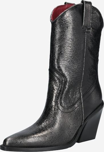 BRONX Stiefel 'NEW-KOLE' in silbergrau, Produktansicht