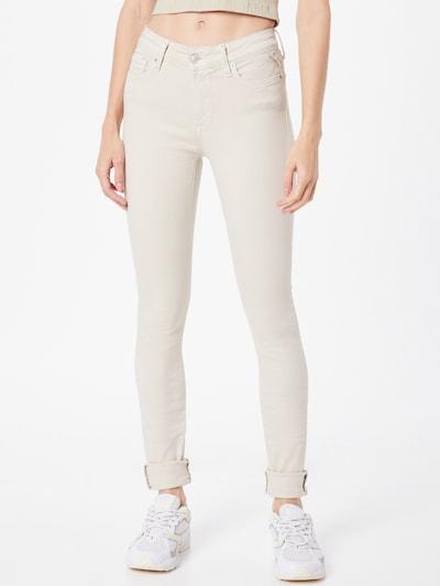 Jeans 'LUZIEN' REPLAY pe alb natural, Vizualizare model