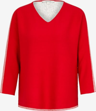 Ci comma casual identity Strickpullover in rot, Produktansicht