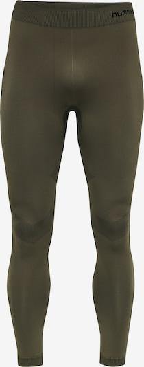 Hummel Sportunterhose in khaki / schwarz, Produktansicht
