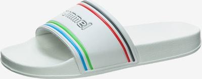 Hummel Retro Badesandale 'Pool Slide' in mischfarben / weiß, Produktansicht
