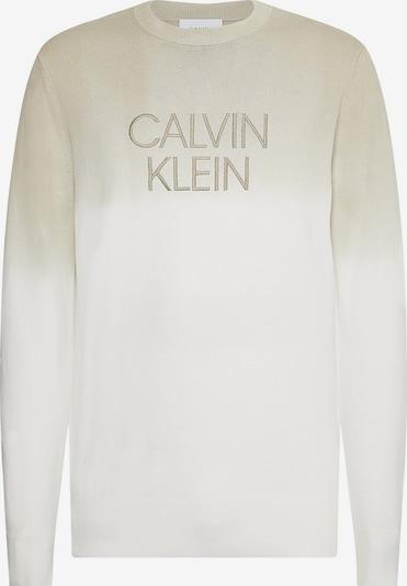 Calvin Klein Trui in de kleur Beige / Wit, Productweergave