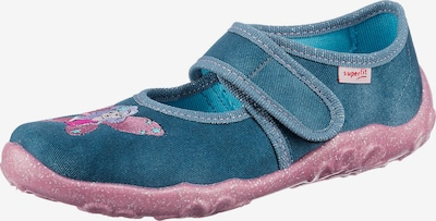 SUPERFIT Hausschuh 'BONNY' in blau / rosa, Produktansicht