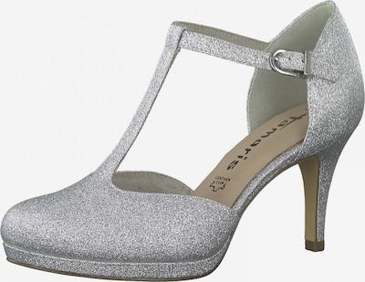 TAMARIS Čevlji s peto | srebrna barva, Prikaz izdelka