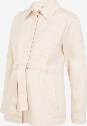 Pieces Maternity Between-season jacket in Beige / White, Item view