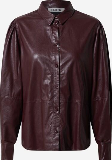 Bluză 'Leandra' EDITED pe roșu vin, Vizualizare produs