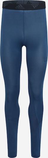 ADIDAS PERFORMANCE Športové nohavice - námornícka modrá / neónovo žltá / čierna, Produkt
