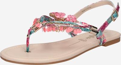 Flip-flops BUFFALO pe culori mixte / roz, Vizualizare produs