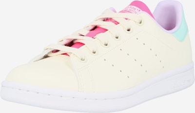 ADIDAS ORIGINALS Sneakers laag 'STAN SMITH' in de kleur Jade groen / Pink / Wolwit, Productweergave