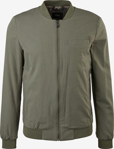 s.Oliver BLACK LABEL Jacke 'PILOT' in khaki, Produktansicht
