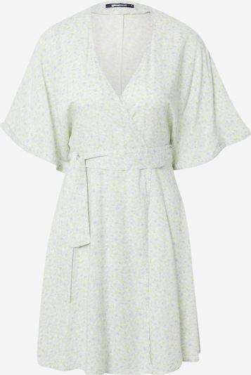 Gina Tricot Robe 'Dolly' en beige / bleu clair / vert, Vue avec produit