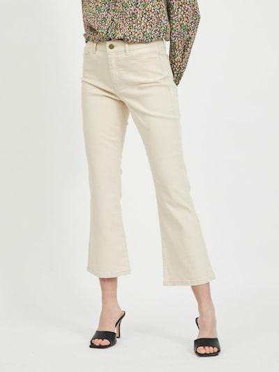 VILA Jeans in de kleur Beige, Modelweergave