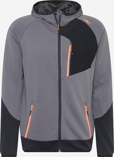 CMP Sport-Jacke in grau / anthrazit / dunkelgrau / dunkelorange, Produktansicht