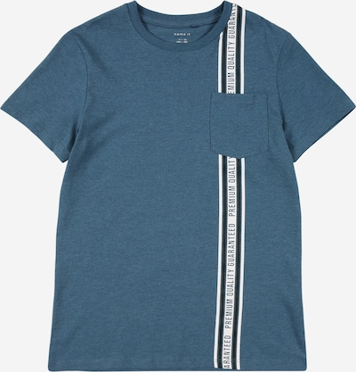 NAME IT T-Shirt in himmelblau / schwarz / weiß, Produktansicht