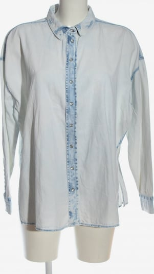 Esmara by Heidi Klum Langarmhemd in M in blau, Produktansicht