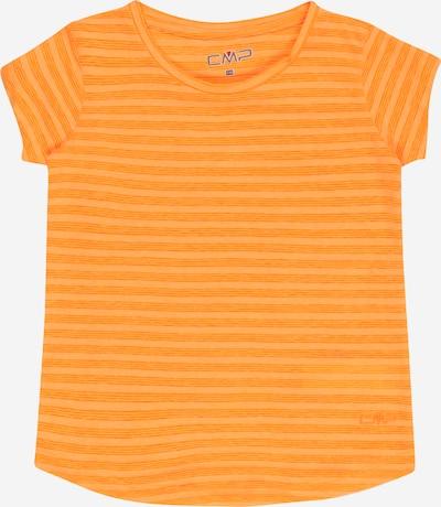 CMP T-Shirt fonctionnel en safran / jaune chiné, Vue avec produit