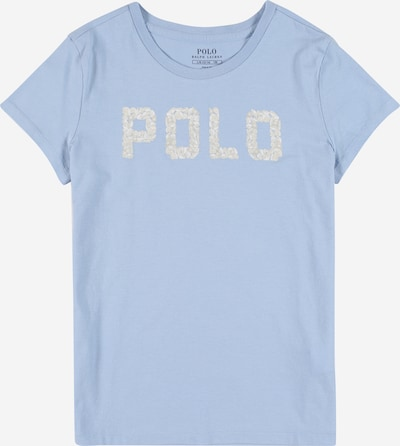 POLO RALPH LAUREN T-Shirt en nude / bleu clair, Vue avec produit