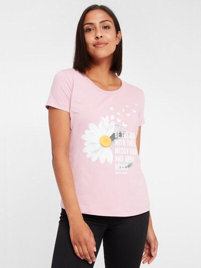 Cross Jeans T-Shirt in pastellpink / hellpink: Frontalansicht