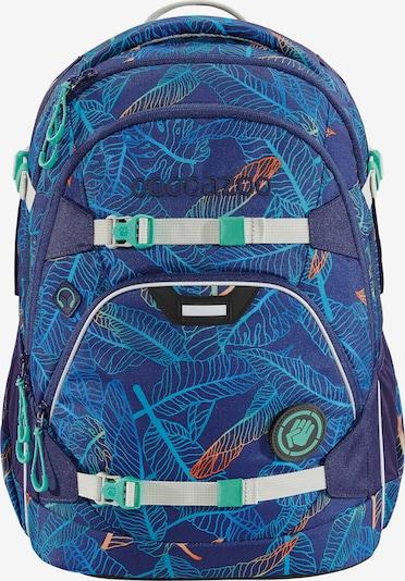Coocazoo Rugzak in de kleur Lichtblauw / Donkerblauw, Productweergave
