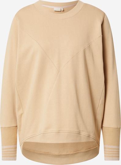 NÜMPH Sweatshirt 'NICOLA' in hellbraun, Produktansicht