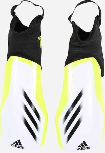 ADIDAS PERFORMANCE Protector en verde neón / negro / blanco, Vista del producto