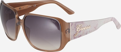 GUESS Solglasögon i beige / brun, Produktvy