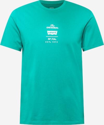 LEVI'S Camiseta en jade / blanco, Vista del producto