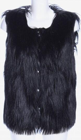 ViCOLO Fellweste in XS-XL in schwarz, Produktansicht