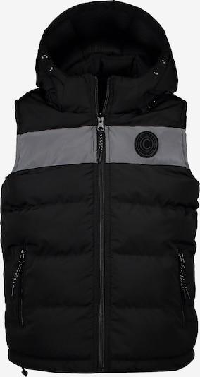 Cars Jeans Weste 'BOADIS' in grau / schwarz, Produktansicht