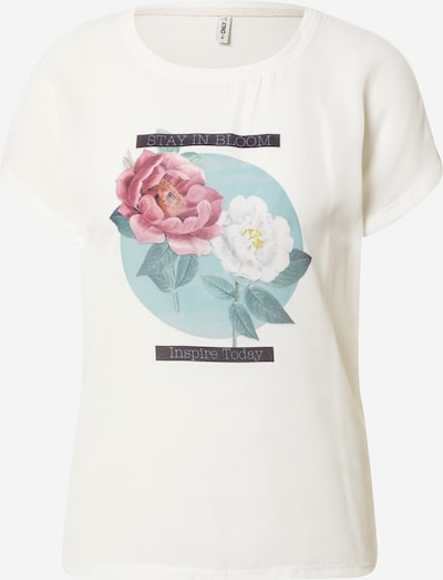 ONLY Shirt in Cream / Opal / Rose / White, Item view